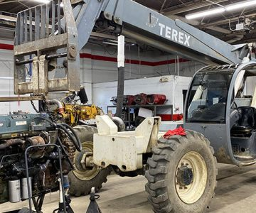 old TEREX vehicle