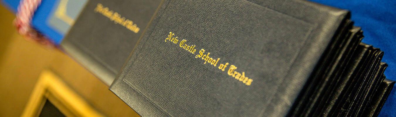 New castle school of trades graduation diplomas
